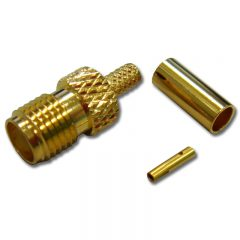 SMA Female Crimp, RG174/RG316