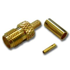 SMA Female Crimp, RG223/400