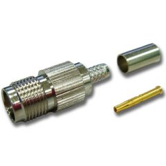 TNC Female Crimp, RG223/RG400