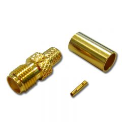 SMA Female Crimp, LMR240
