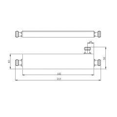 3 Port Directional Coupler 380MHz-2700MHz