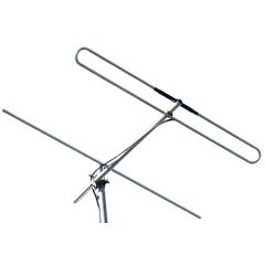 FM Radio Stainless Steel Yagi – 2 Element, 1kW
