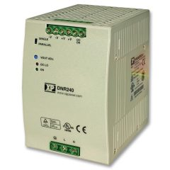 DIN Rail Power Supply, 240VAC to 48VDC 5amp