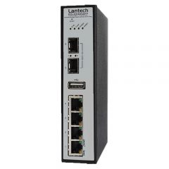 Lantech 4 Port Managed Industrial Switch