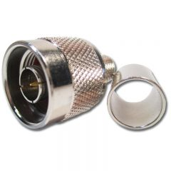 N Male Fixed Pin, LMR400