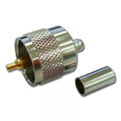 UHF Male Crimp, RG58