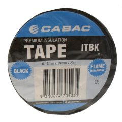 Insulation Tape. Black. 20mtrs