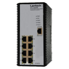 Lantech 8 Port Managed Industrial Switch