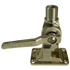 ZCG MM2 Deck 2-way fold down mount, stainless steel